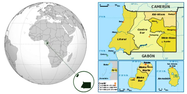 Localización Guinea